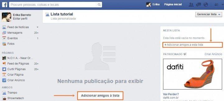 Feed facebook