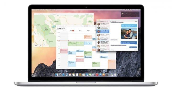 osx yosemite mac 720x405 - Baixe agora o OS X Yosemite; iOS 8.1 ficou para semana que vem