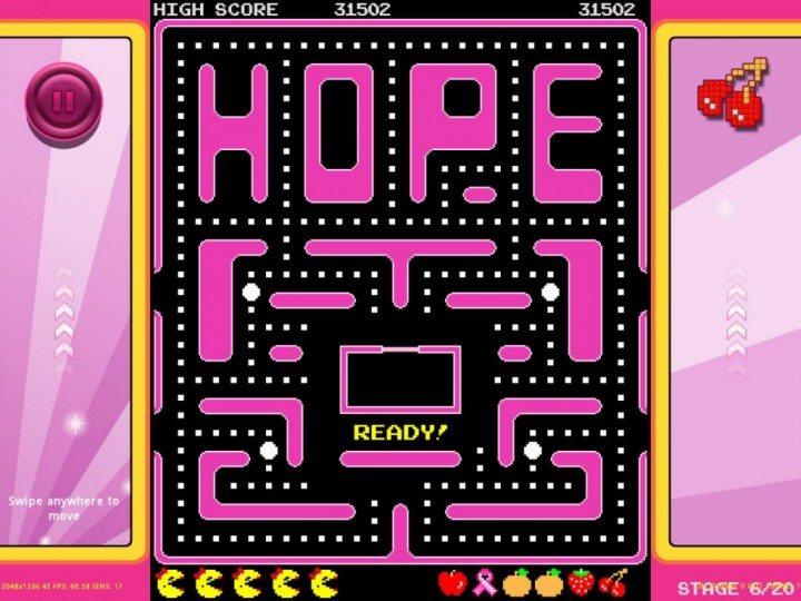 pac man outubro rosa gamespot 720x540 - O Pac-Man e o Outubro Rosa