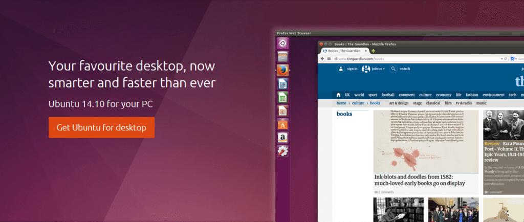 ubuntu 14 10 - Ubuntu 14.10: baixe já a nova versão
