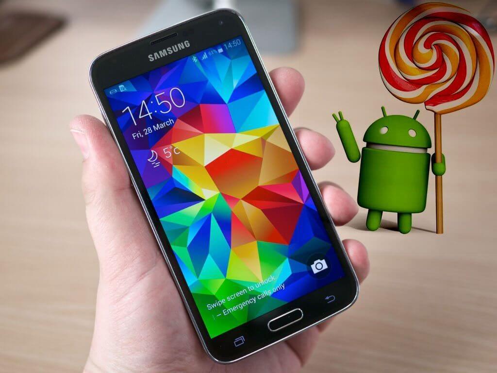 galaxy s5 lollipop update - Galaxy S5 deve receber o Android 5.0 Lollipop em dezembro