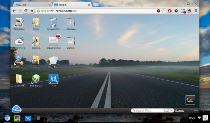 google chromium os on dell mini 9 with zeropc virtual desktop 720x421 - Dell lança primeiro Chromebox no Brasil por 999 reais