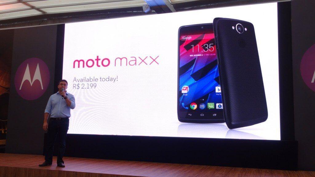 Moto Maxx e Moto 360 são lançados no Brasil