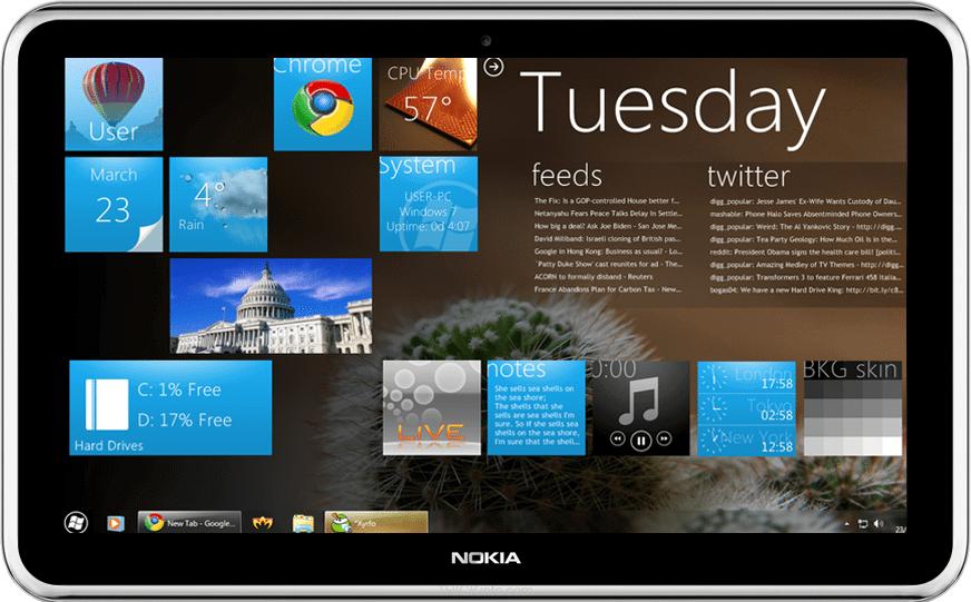 nokia win8 tablet - Estaria a Nokia ensaiando um retorno com o Android?