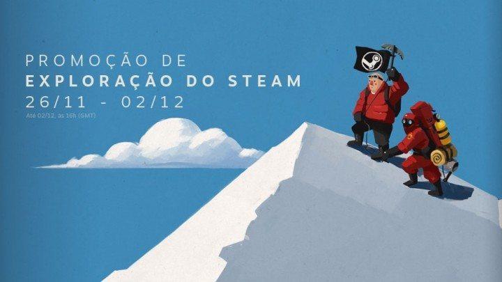 Promoção de Exploração do Steam