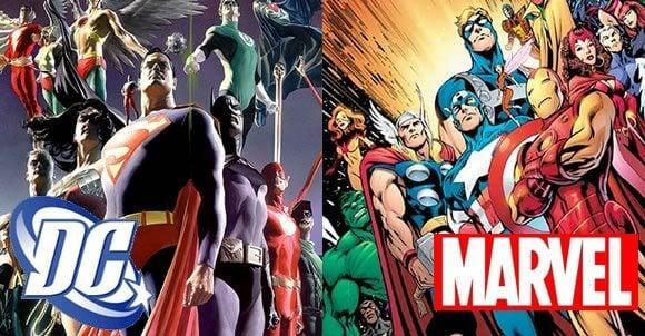 dcmarvel 01 - Marvel vs DC em uma batalha épica