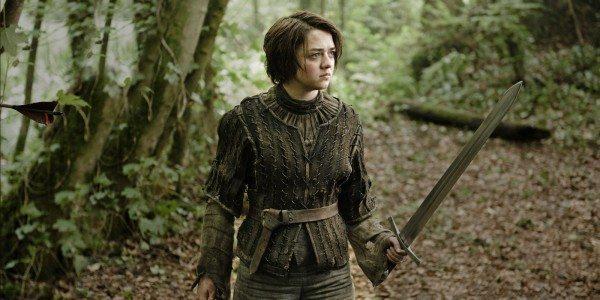 o game of thrones arya facebook 600x300 - Assista o mini trailer da 5ª temporada de Game of Thrones