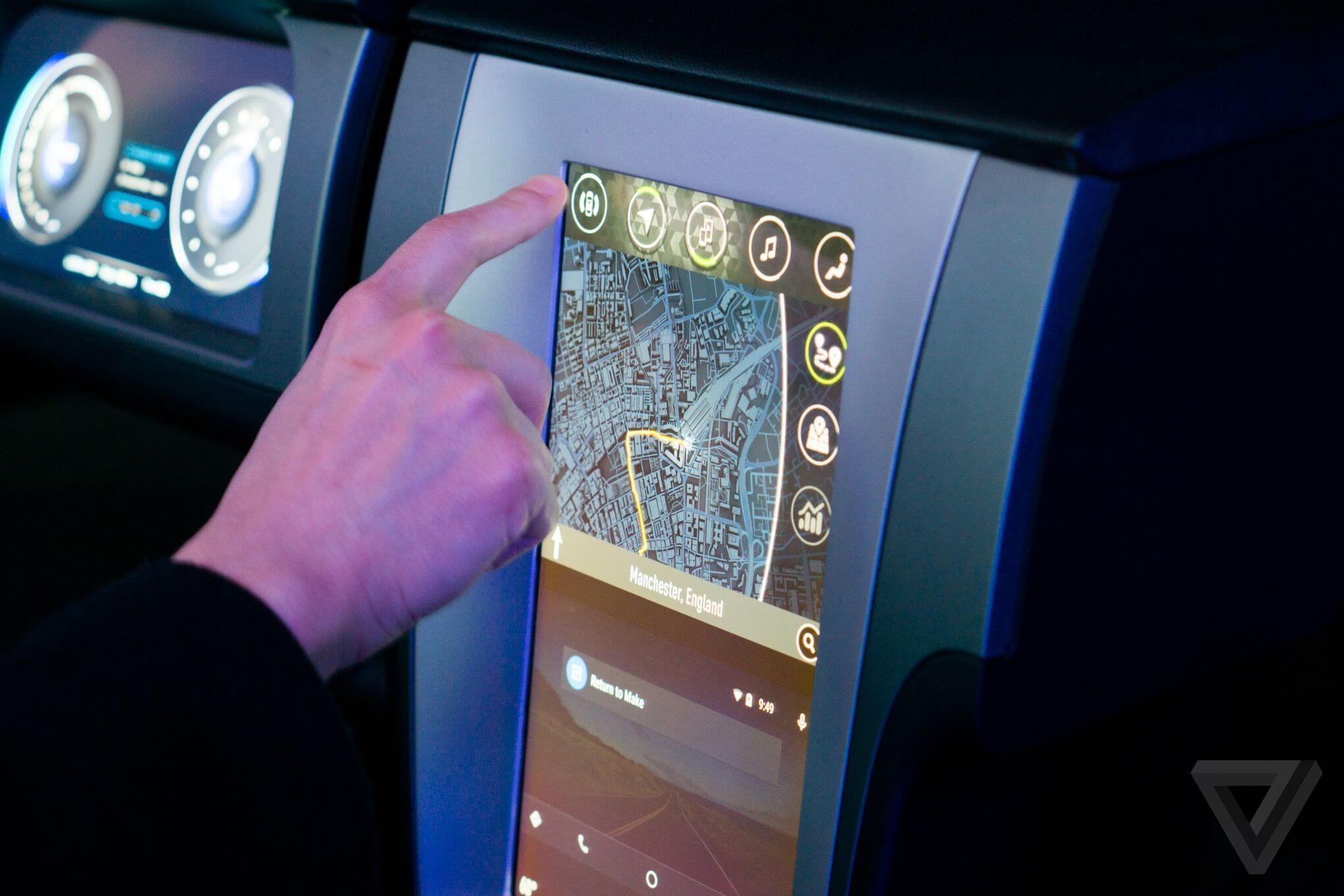 nvidia2 2040 0 - CES 2015: Nvidia mostra sistema de entretenimento informativo Tegra X1 para automóveis