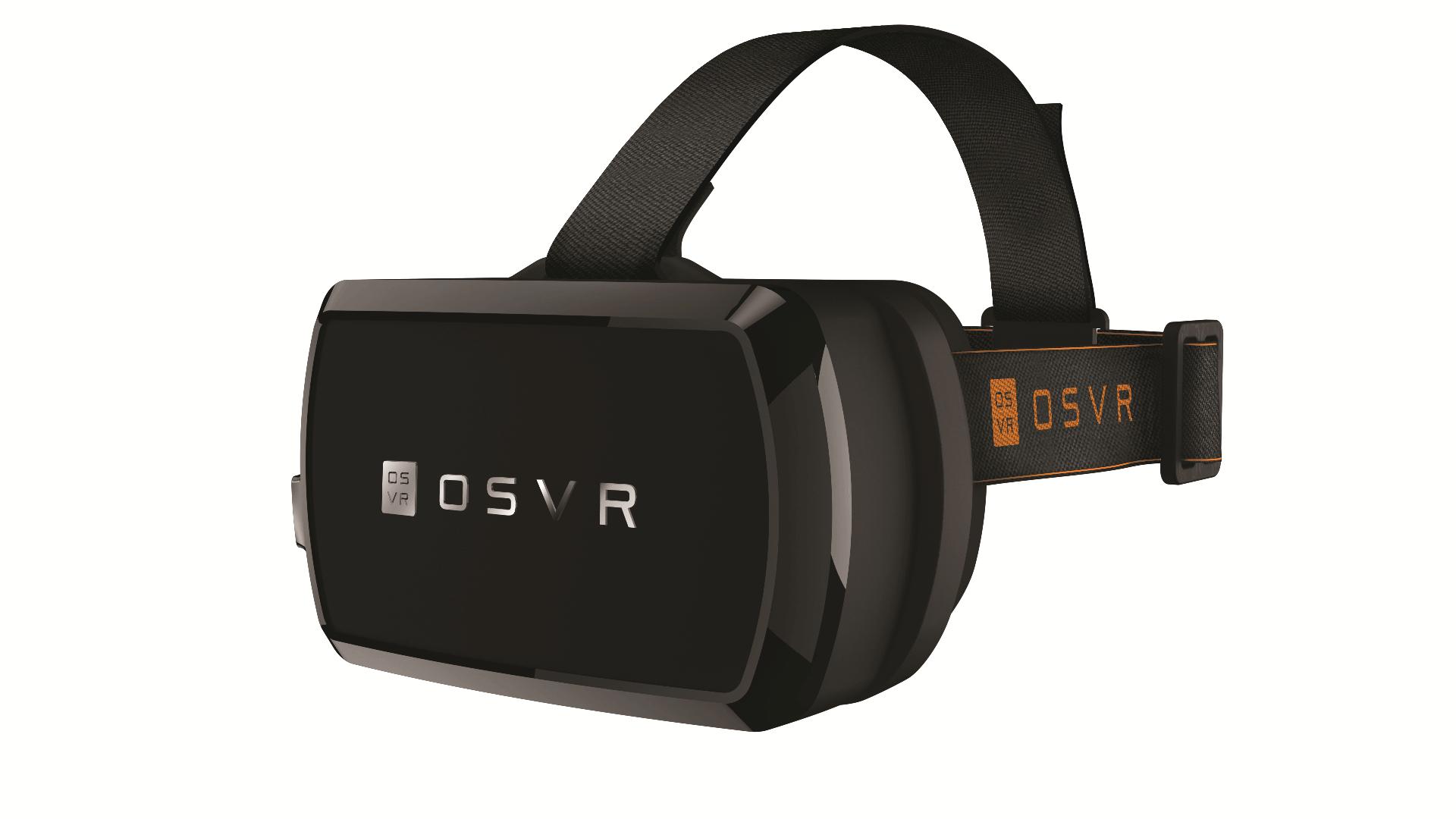 rzr osvr 5 whitebg - CES 2015: Razer lança aparelho de realidade virtual com código aberto