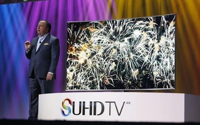 samsung - CES 2015: Samsung lança TV SUHD, loja de Realidade Virtual e SSD portátil