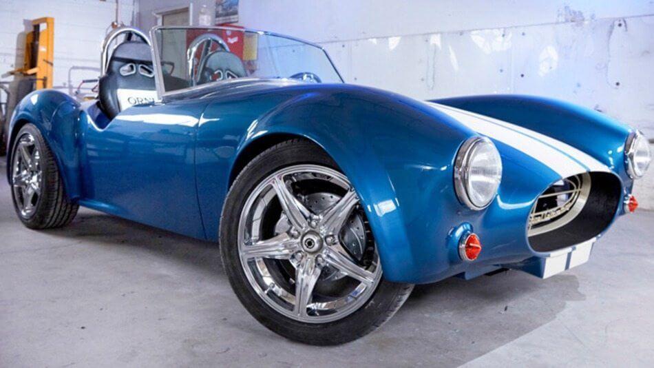 shelbycobra3d - Shelby Cobra ganha versão comemorativa feita com impressora 3D