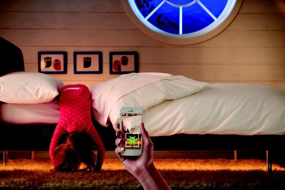 """sleepiqbedkid 4 - CES 2015: Cama inteligente conta com """"dectetor de monstros"""" e monitora o sono das crianças"""