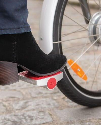 web pied - Pedal inteligente protege sua bike de ladrões e monitora seu percurso