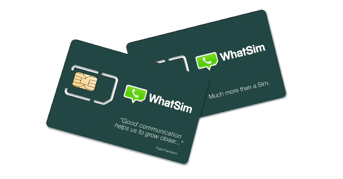 whatsim - WhatSim: o chip para você falar de graça no WhatsApp