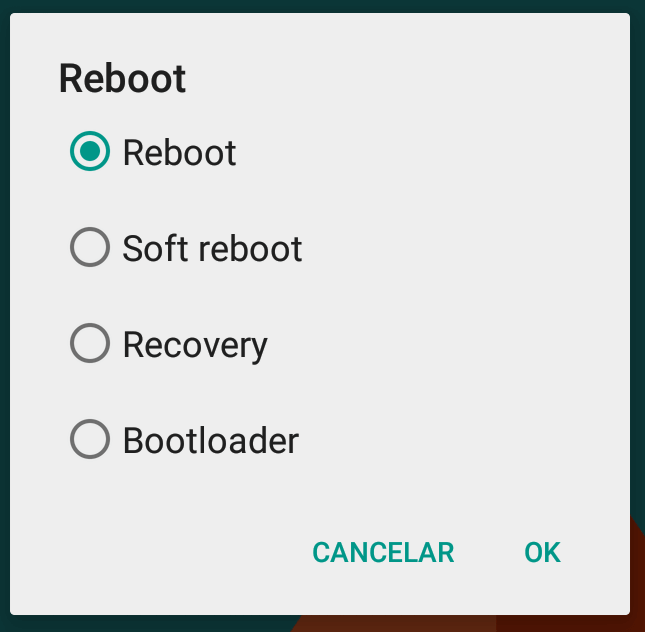Advanced Reboot - CM12 SMT
