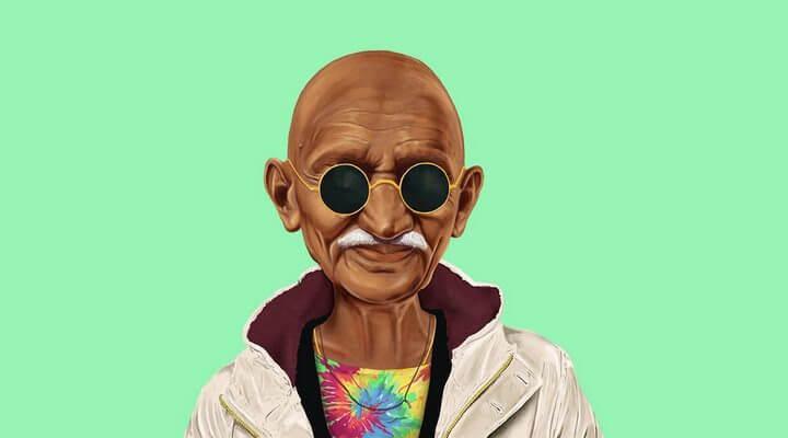 Ghandi-Hipster-2