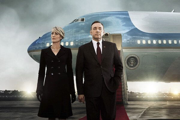 Poster oficial da terceira temporada de House of Cards / reprodução