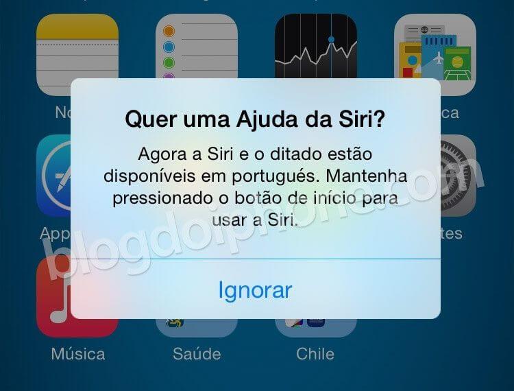 id115129 - Siri, do iPhone, agora fala português