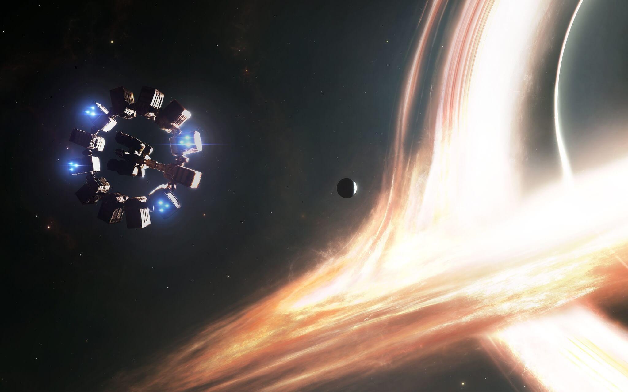 interstellar voyage wide - O buraco negro que Interestelar criou e não nos mostrou