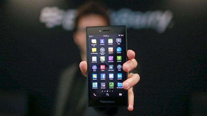 BlackBerry Leap, smartphone lançado em 2015 deve perder o suporte ao Whatsapp