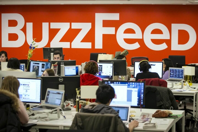 buzzfeed newsroom 1440 - Alma do negócio? BuzzFeed acredita que o futuro das novas mídias está no conteúdo