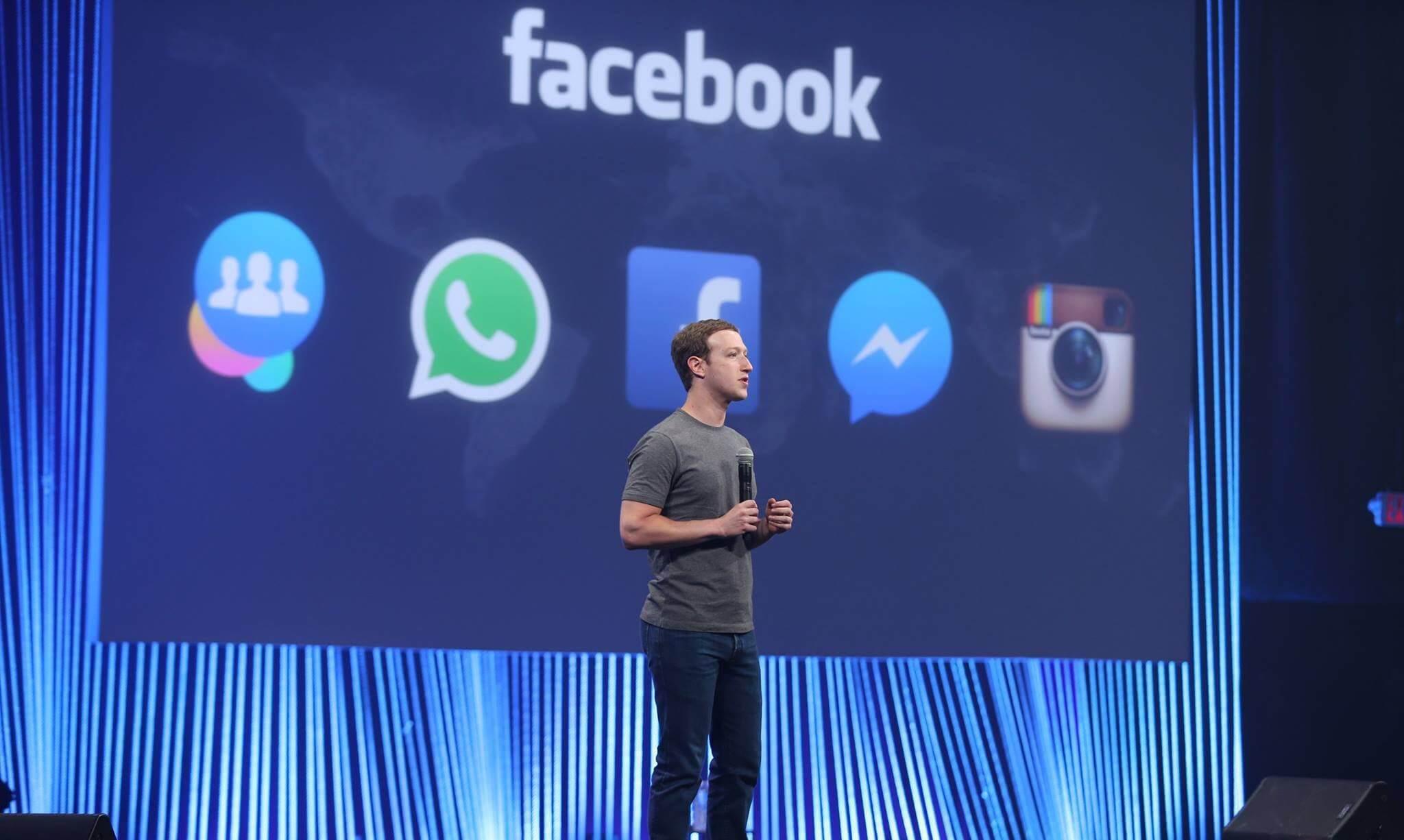 f8 day1keynote - F8 2015: Messenger do Facebook vira plataforma para apps e empresas