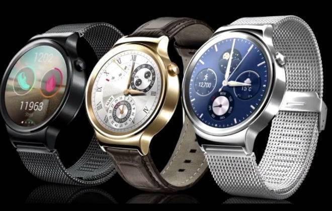 As 3 opções de cores do novo smartwatch da Huawei