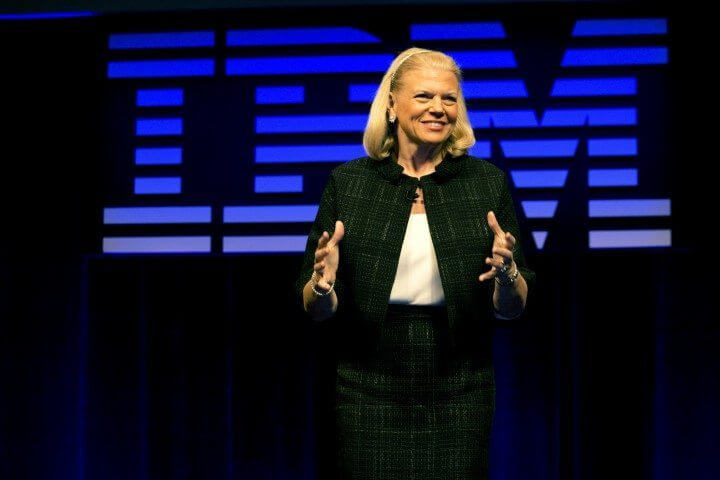 IBM CEO DISCUSSES GROWING PARTNER ECOSYSTEM