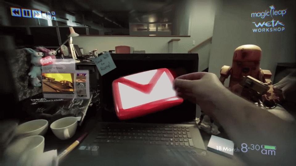 magicleapvideo - Veja a magia de 500 milhões de dólares do Magic Leap em ação