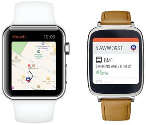 moovit wearable - Moovit terá versão para Apple Watch e Android Wear