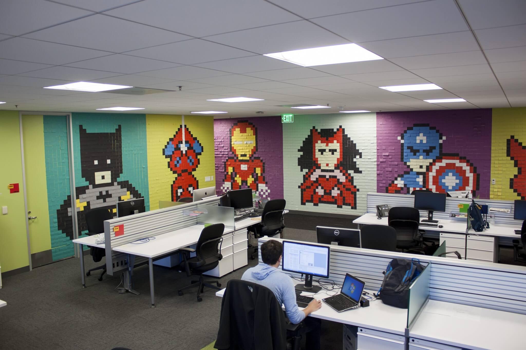 aerial view imgur - Você, seu escritório e super-heróis