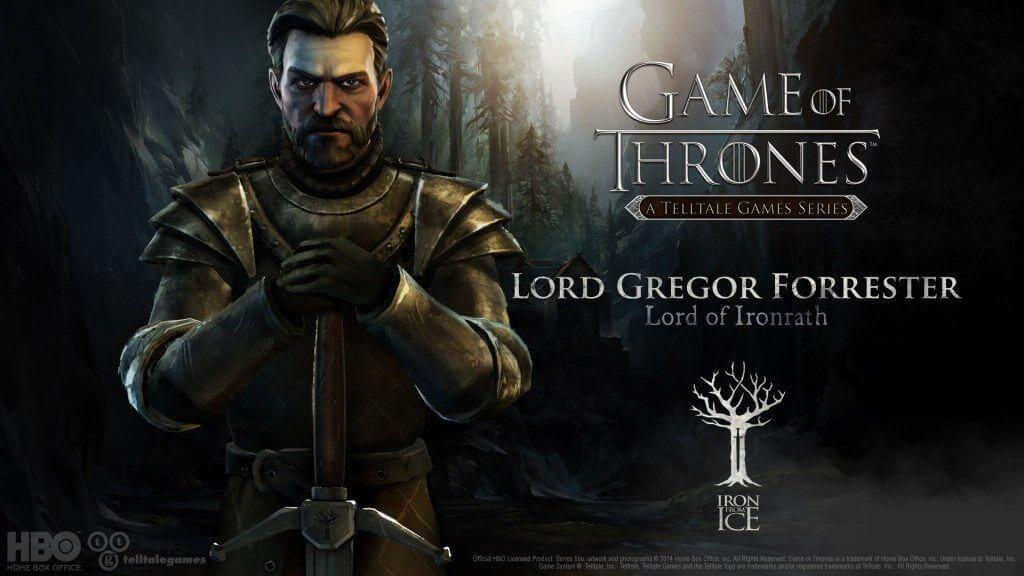 got lord gregor forrester - Game of Thrones: primeiro episódio grátis para Android