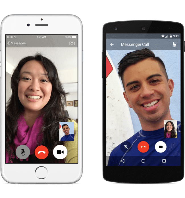 messenger video call2 - Facebook lança videochamadas via Messenger