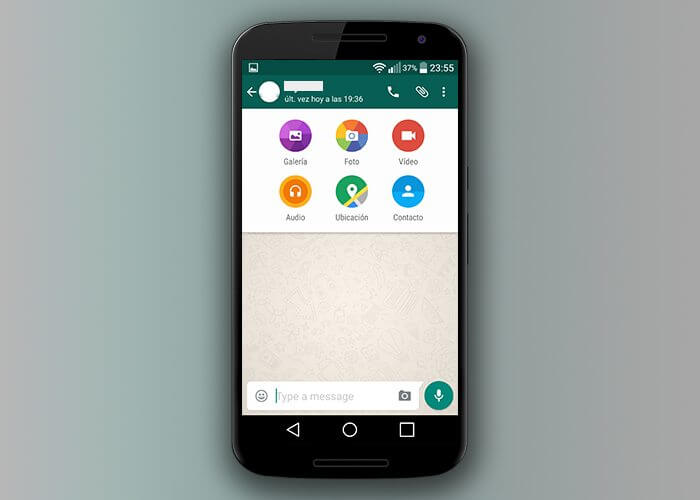 WhatsApp-Material design