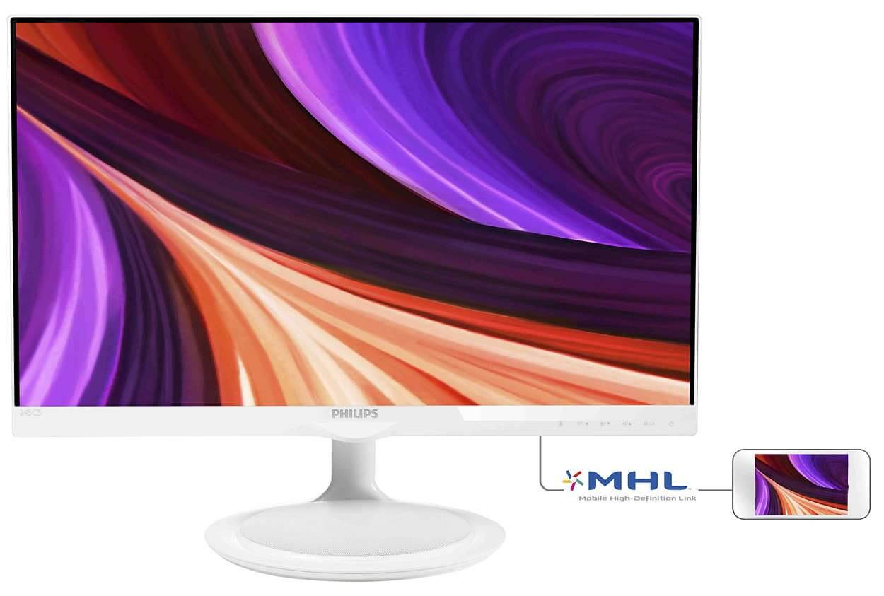 "245c5qhaw 57 ims pt br - Review: Monitor LED 23,8"" Philips Full HD Widescreen (245C5QHAW)"
