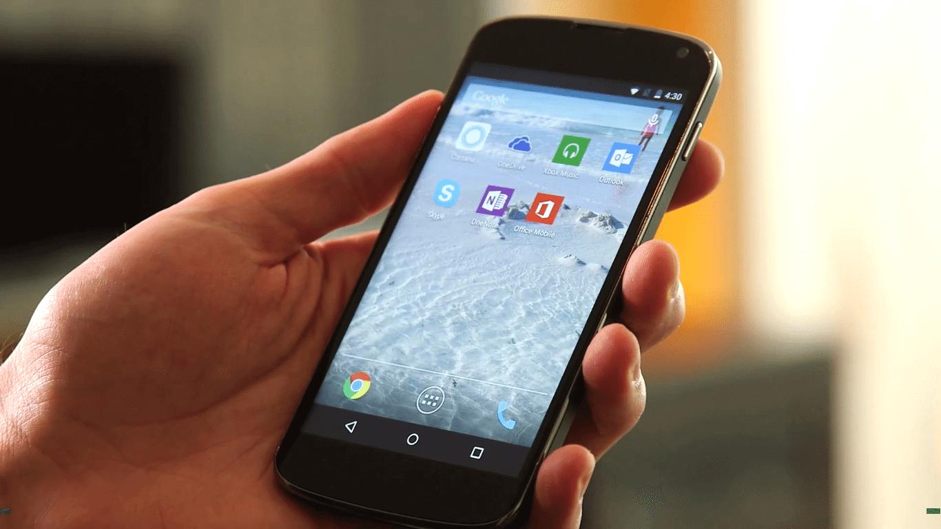 Phone companion Cortana para Android
