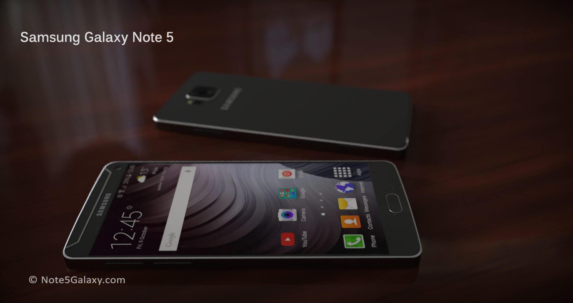 galaxy note 5 6 - Samsung planeja anunciar o Galaxy Note 5 no final de julho