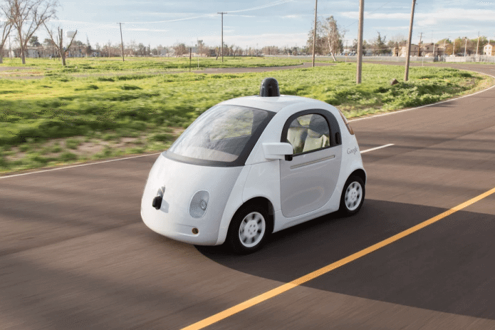 google car 720x480 - Carros autônomos do Google começarão a andar nas ruas