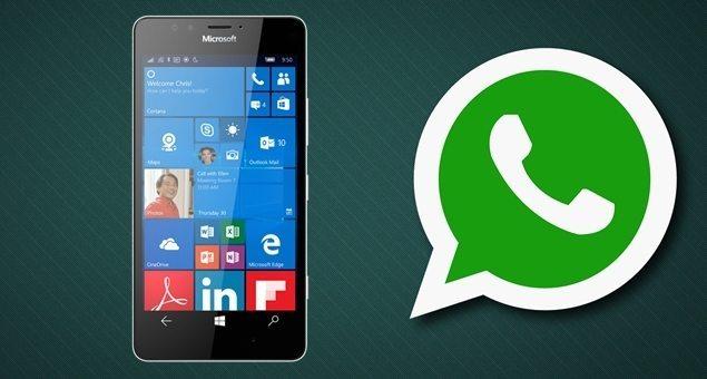 Whatsapp para windows phone