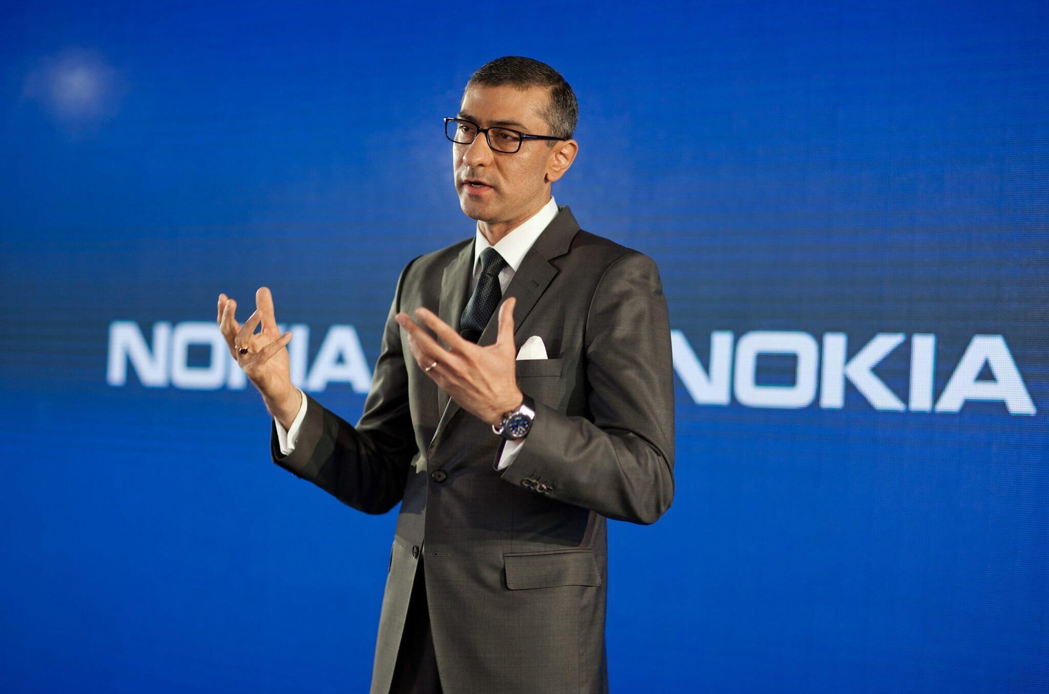 Rajeev Suri, CEO da Nokia