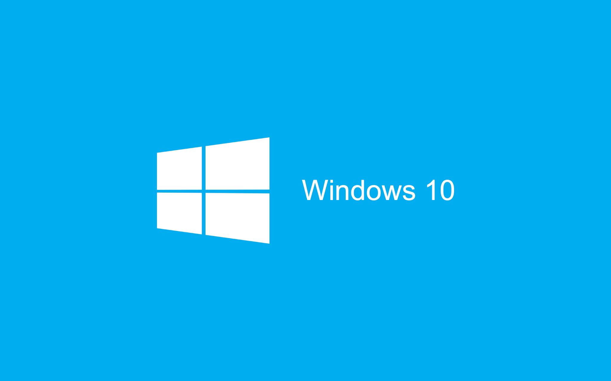 blue wallpaper windows 10 hd 2880x1800 - Windows 10 já tem data de lançamento