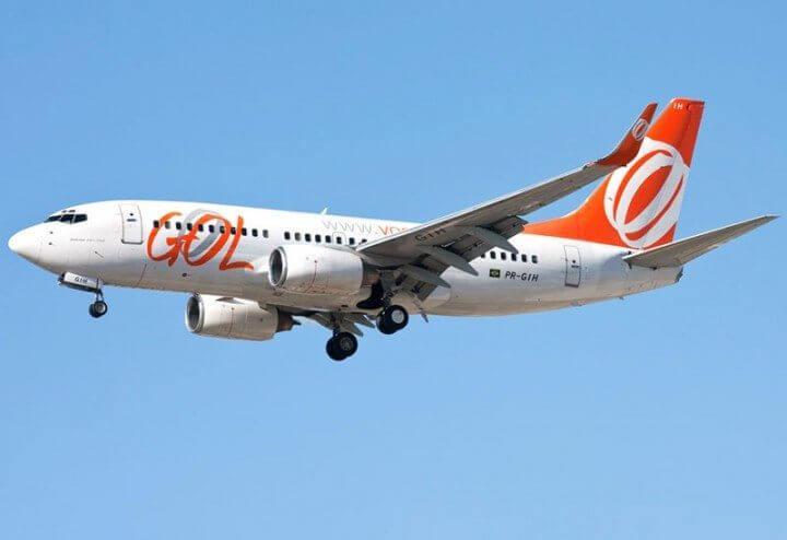 gol avio 720x494 - Aviões da GOL terão conexão Wi-Fi e central de entretenimento