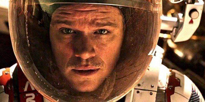 matt damon the martian perdido em marte romance filme 720x360 - Análise: Perdido em Marte (The Martian) - O Livro, o Filme, a Ciência