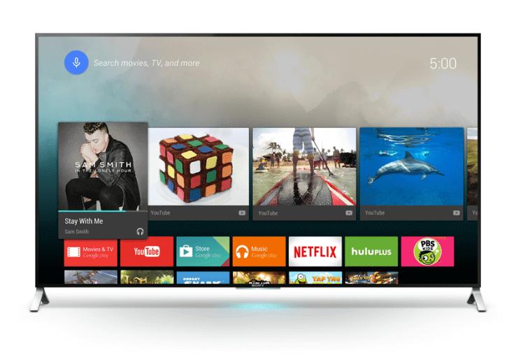 Sony Android TV Google