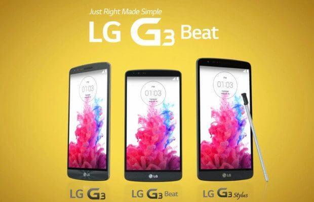 LG G3 e suas variações