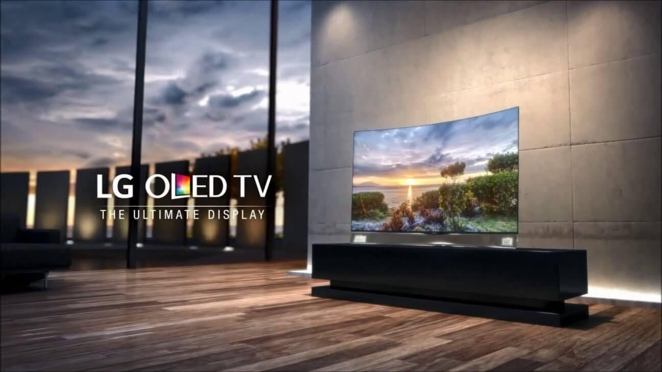 TV LG OLED com HDR