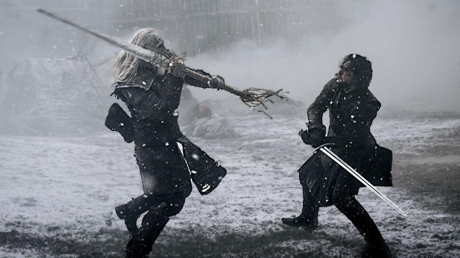 """ww fight - Game of Thrones: veja como foi feita a cena da """"batalha de Hardhome"""""""