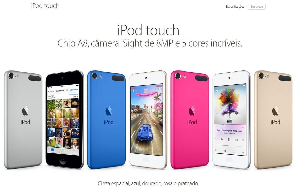 iPod Touch de 6ª geração