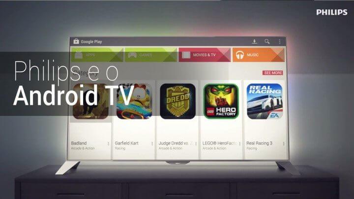 """Philips lança nova linha de smart tvs 4k com plataforma android. Philips aposta no conceito """"tem tudo"""" para oferecer uma boa opção para quem busca uma smart tv com conteúdo, serviços, imagem 4k e tela grande"""