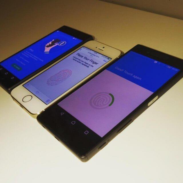 O Xperia Z5 deverá ter leitor de digitais